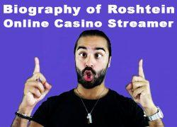 Biography of Roshtein Online Casino Streamer