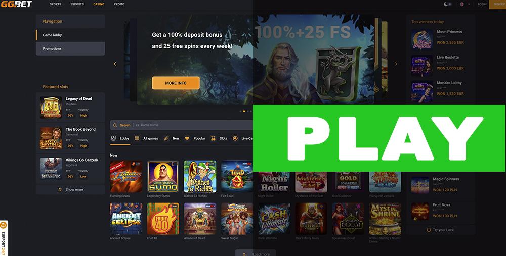 GG Bet Play Casino
