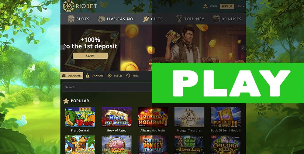 RioBet Casino Play
